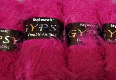 50g Stylecraft Gypsy FUSCHIA knitting wool