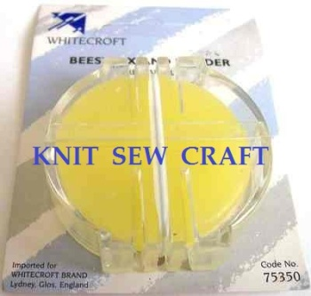 Beeswax & Holder Whitecroft for Sewing Needles Thread