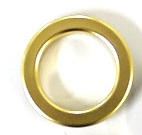Curtain Eyelet Rings for Fabric Tape 10 x 38mm GOLD