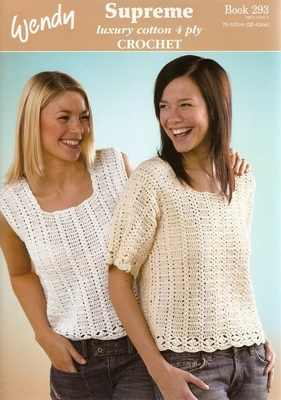 Wendy Supreme Cotton Crochet Patterns Book 293