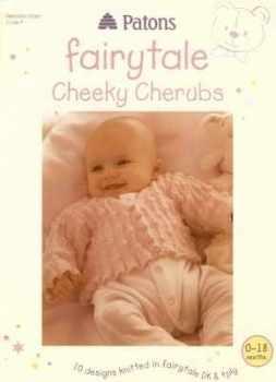 Patons Fairytale Cheeky Cherubs DK 4Ply Patterns Book PBN03069