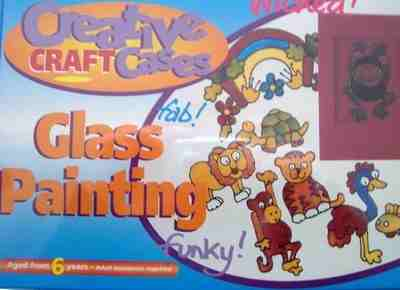 Twilleys Creative Craft Glass Painting Kit