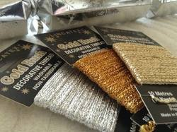 Sparkling Metallic Glitter Sewing Thread