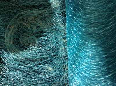 Turquoise Blue Spider Web Net Club Green 15cm for Crafts Party Bridal