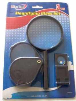 Magnifying Glass Set for Knitting, Sewing, Crafts, Books