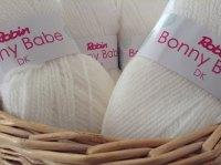 Robin Bonny Babe Double Knitting Wool 1360 White