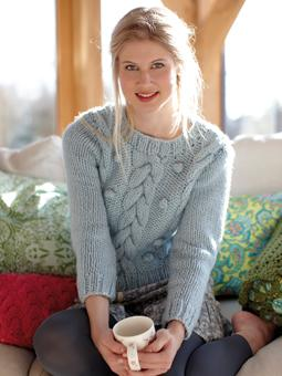 warm and cosy knitted sweaters