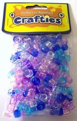 Twilleys of Stamford Crafties Range Pack Of Pony Beads