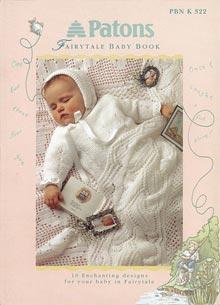 Patons Fairytale 3ply 4ply dk Patterns Book 322 - Knit, Crochet