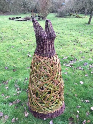 Debbie Hall dress sculpture