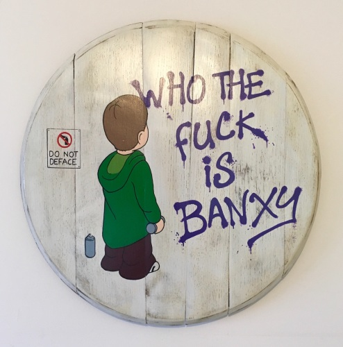 Who the F*** is Banxy