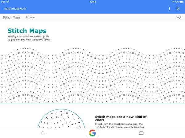 stitch-maps