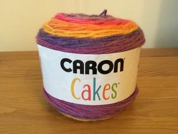 Caron cake yarn - funfetti