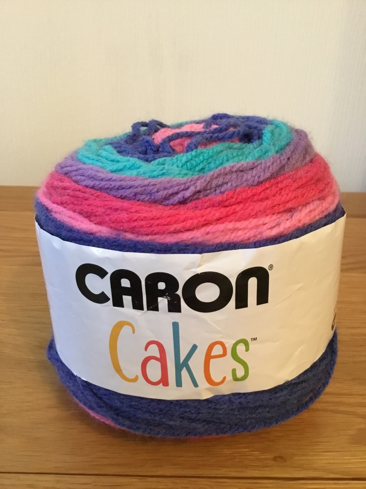 Caron cake yarn - mixed berry