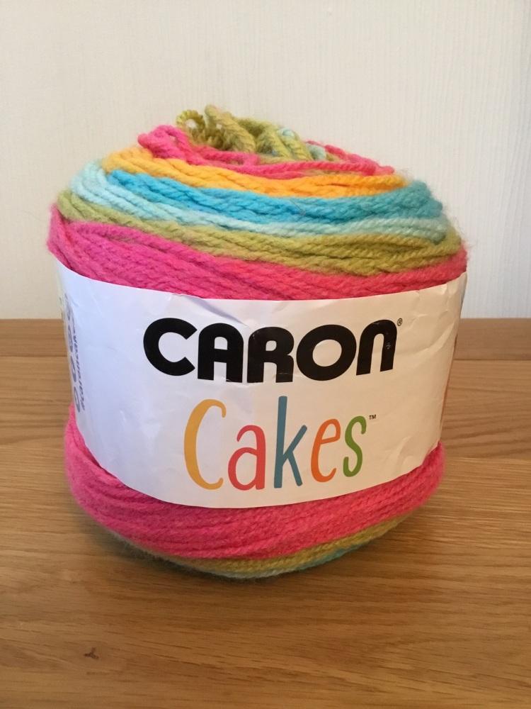 Caron cake yarn - rainbow sherbet