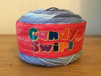 Stylecraft candy swirl - blueberry gum