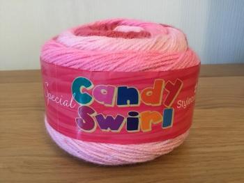 Stylecraft candy swirl - strawberry taffy
