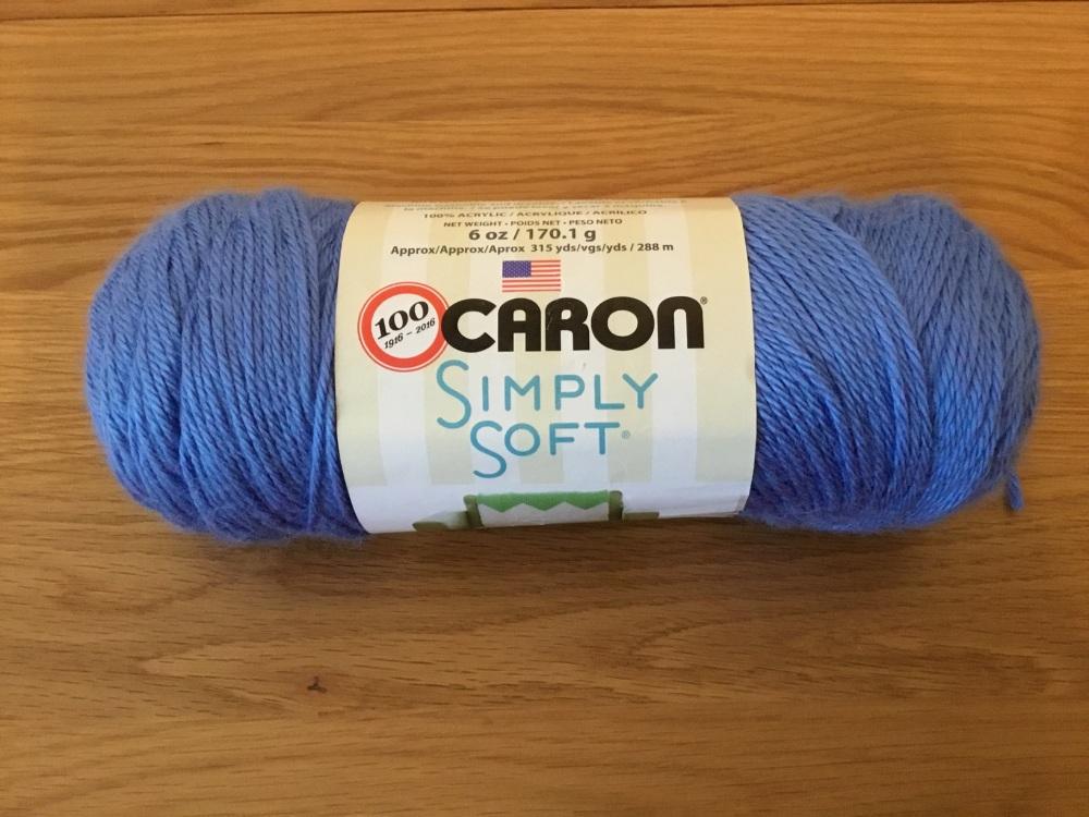 Caron simply soft - berry blue