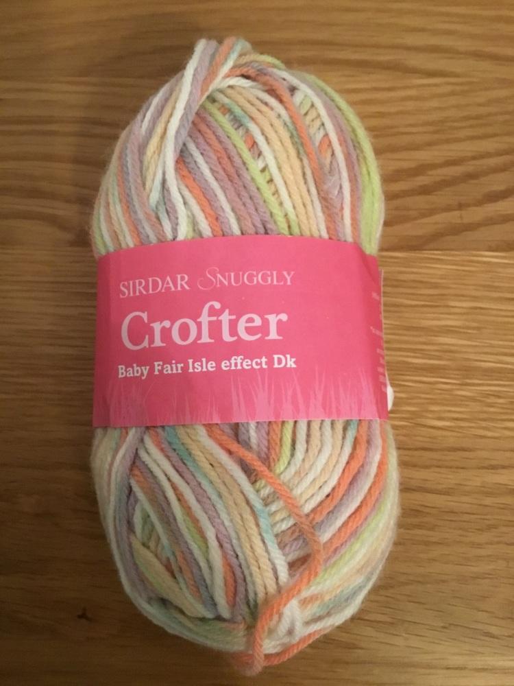 Sirdar Snuggly crofter - pastel