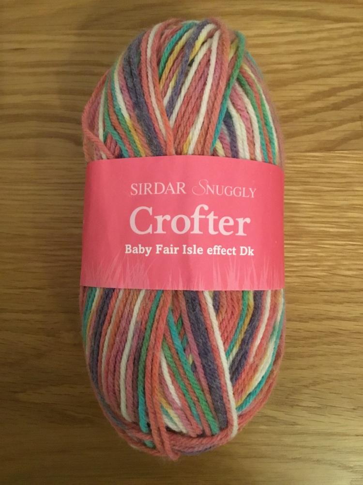 Sirdar Snuggly crofter - multi