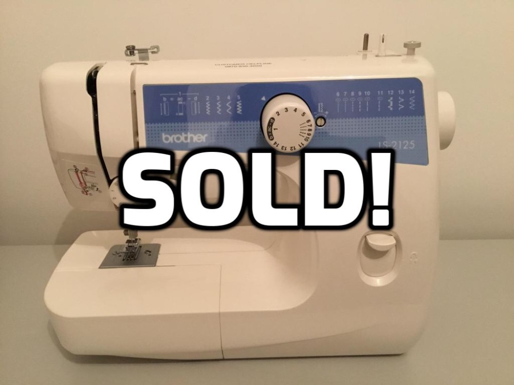 Brother LS-2125 Sewing machine (SOLD)
