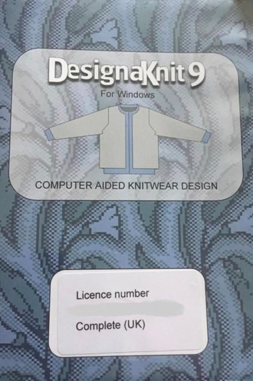 Design A Knit 9 CD (for windows)