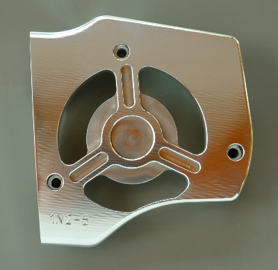 Sprocket Cover CNC Pol