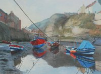 'Boats, Staithes Beck'