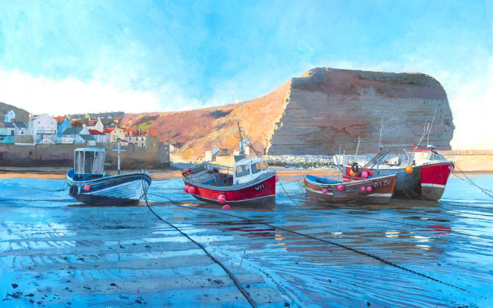 Staithes, Low Tide