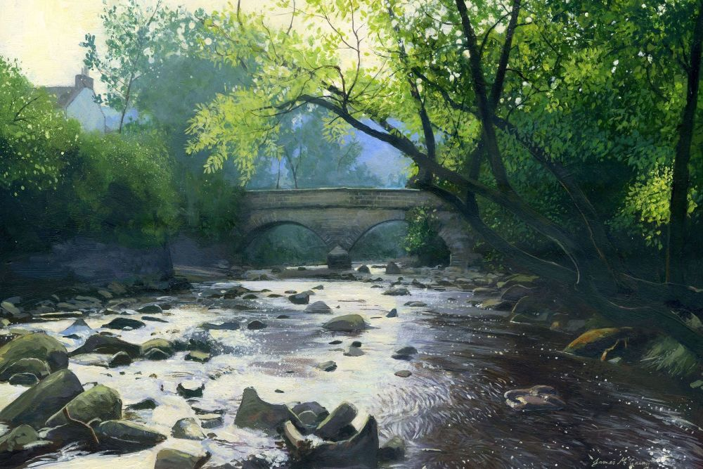 Eller Beck, Beck Hole. 270 x 180mm