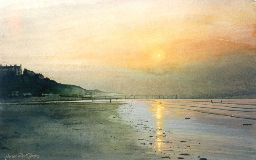 Saltburn Evening 160 x 100mm #5