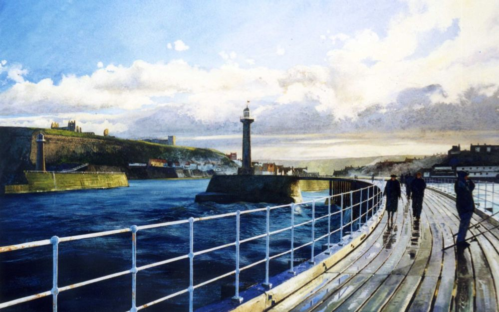 Whitby. 160 x 100mm