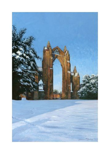 'East Window, Gisborough Priory.'