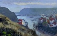 'Staithes Winter Evening'