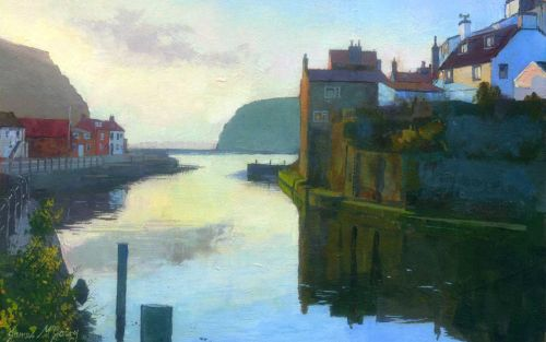 'Staithes Morning'