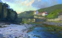 'Staithes Footbridge'