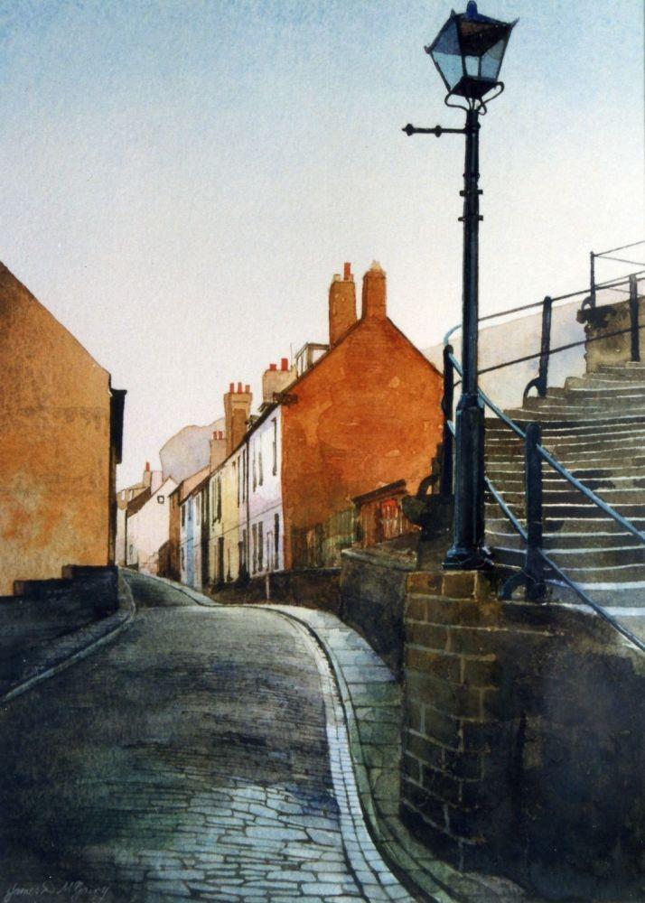 Henrietta Street. 100x140mm