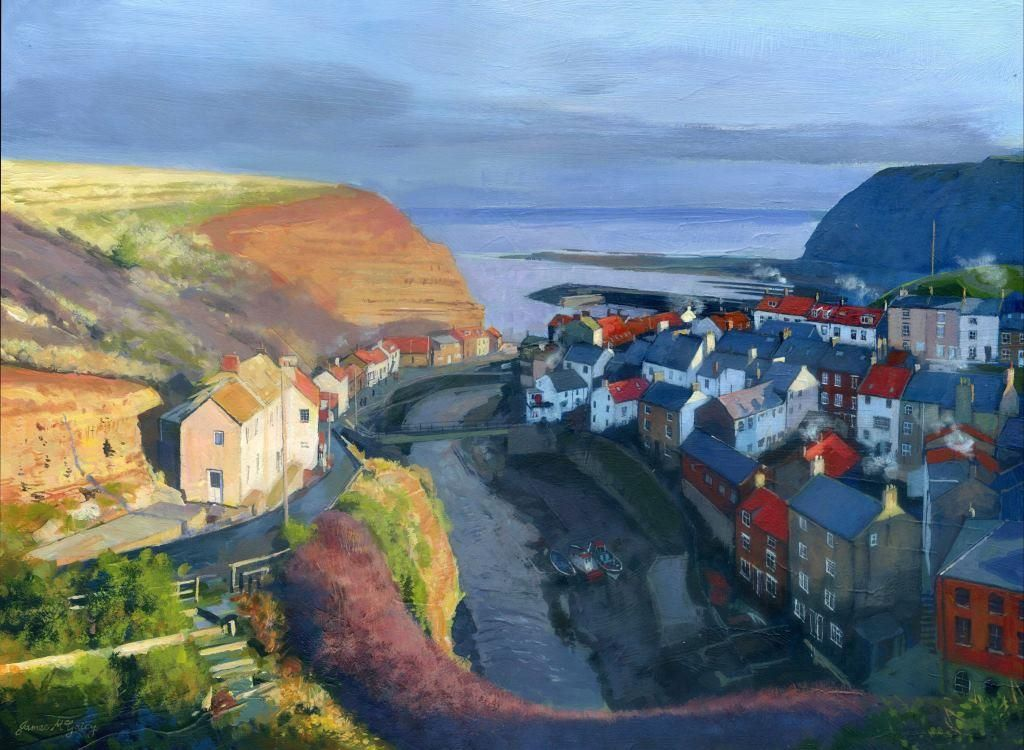 Staithes Winter Afternoon