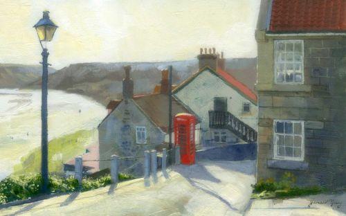 'Runswick Bay Morning'