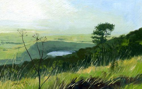 'Gormire Lake'