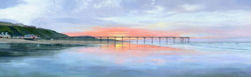 'Spring Sunset, Saltburn'