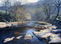 'River Swale at Keld.'