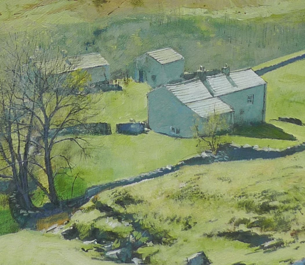 Towards Swaledale. detail