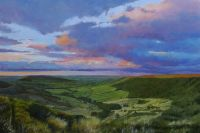 'Fryup Dale Evening.' SOLD