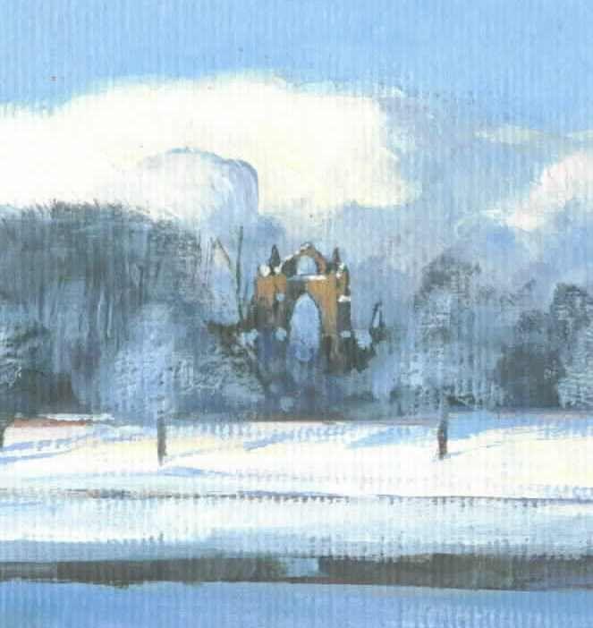 Guisborough Priory #3 detail 1
