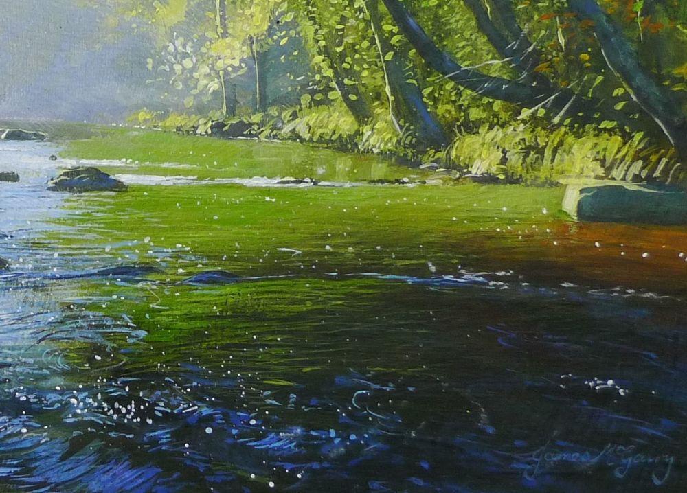 Autumn Morning. detail 1