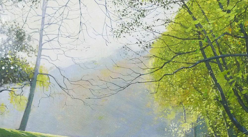 Autumn Morning. detail 3