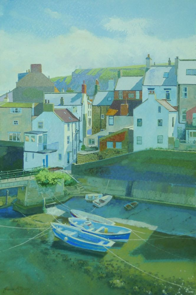 Staithes Boats.
