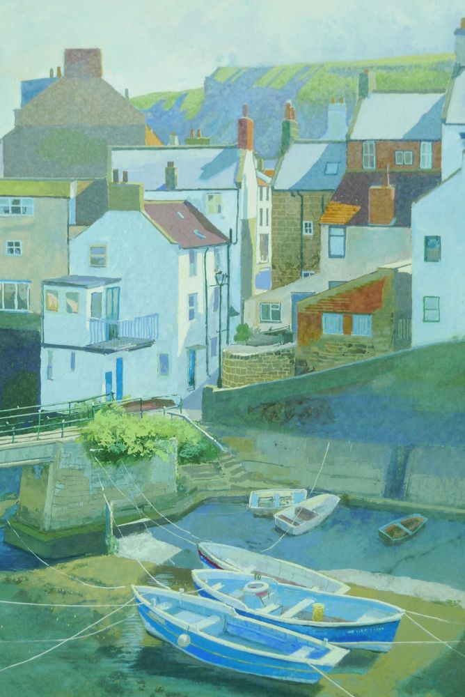 Staithes Boats.. detail 1
