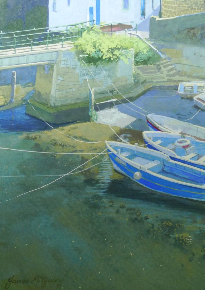 Staithes Boats.. detail 2